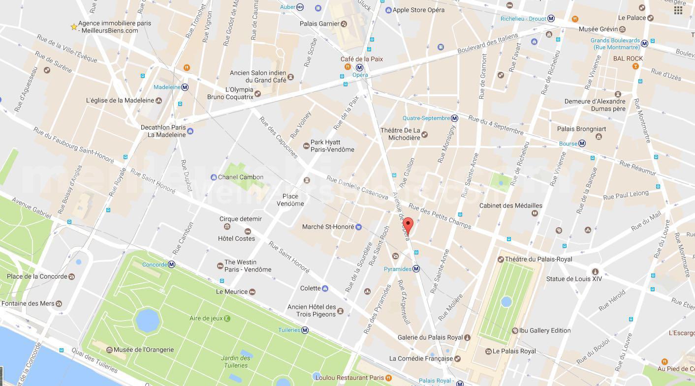 MAPS PARIS OPERA