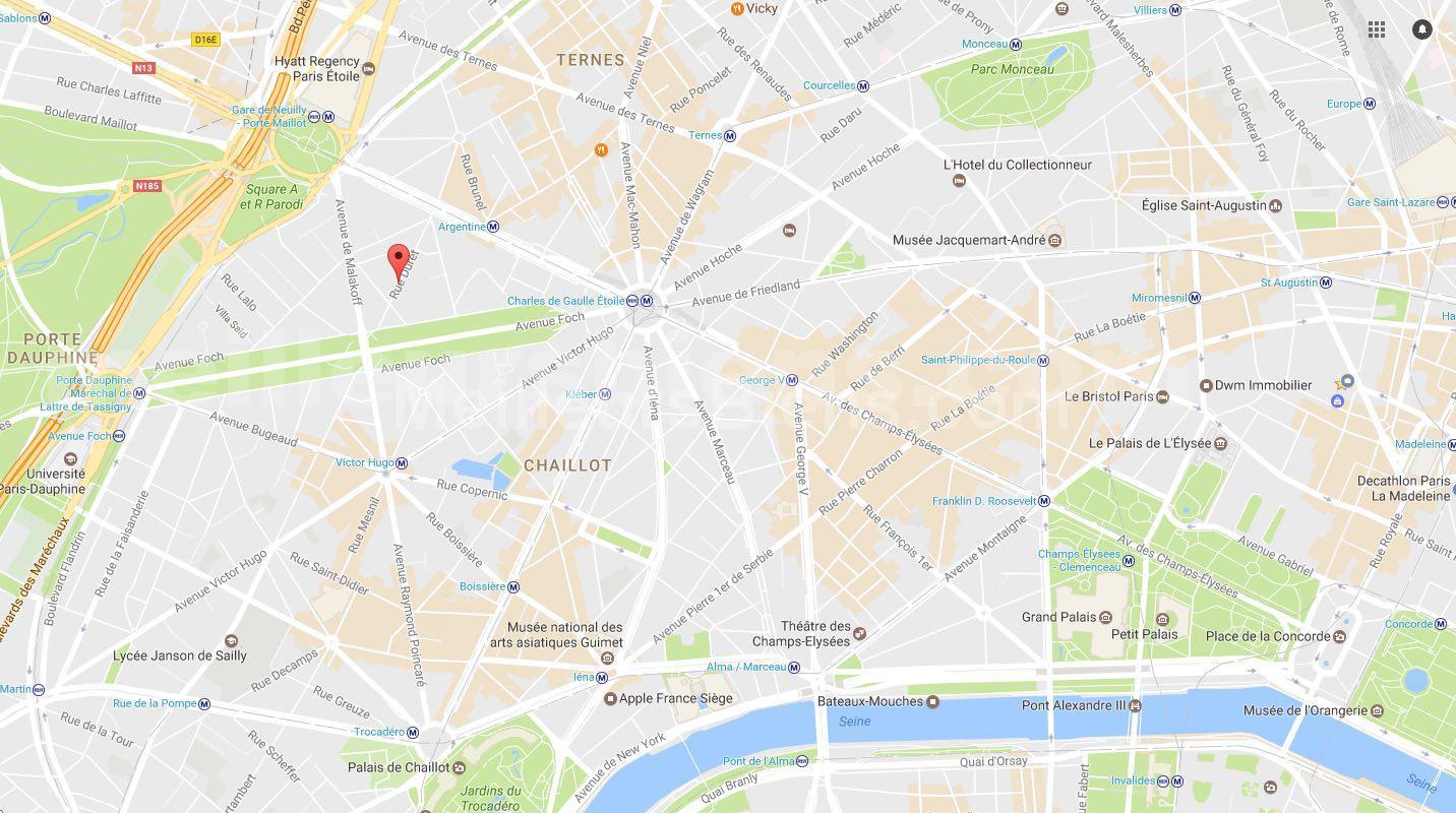 MAPS PARIS FOCH
